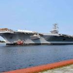 USS-Dwight-D.-Eisenhower-Enters-Norfolk-Naval-Shipyard
