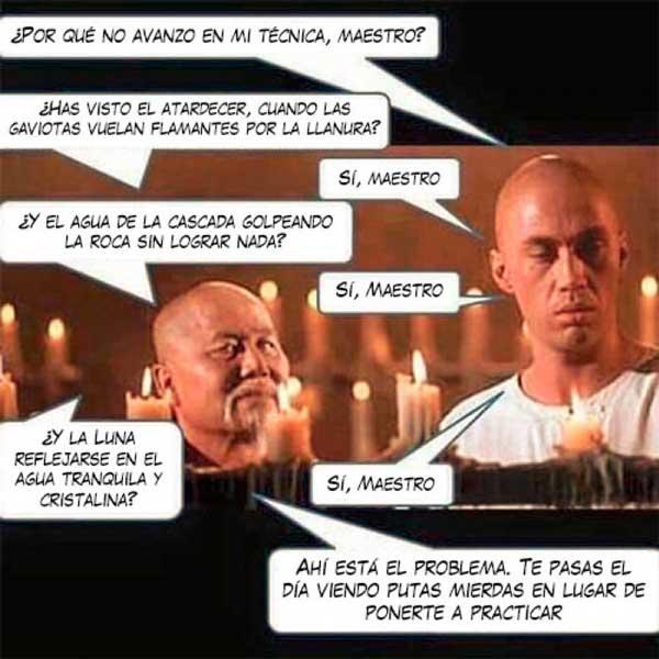 Juan Manuel Grijalvo A Por Qué No Avanzo En Mi Técnica